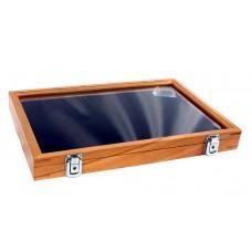 Espositore vetrinetta in legno