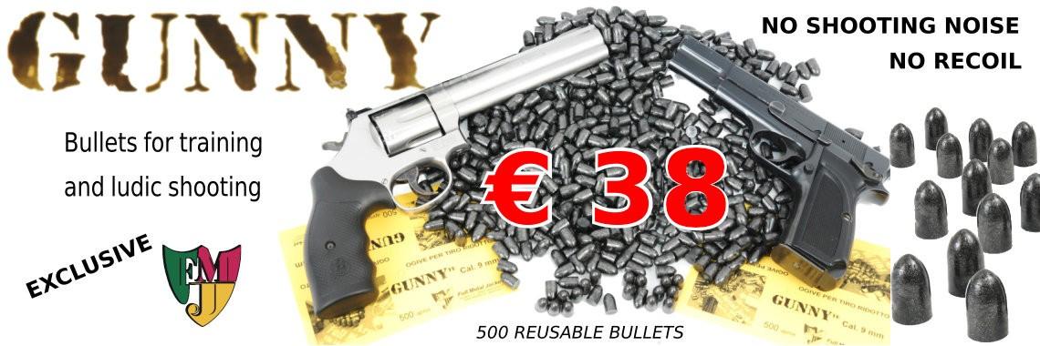 Gunny, bullet for ludic shooting