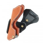 Vintage Leather Holster for rapid fire shooting sports - RH