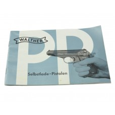 Original German PPK Walther pistol instruction booklet