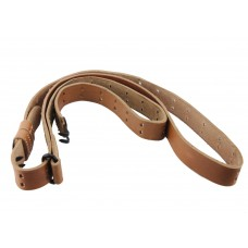 M1 Garand, M14, 1903 Springfield, BAR brown leather sling