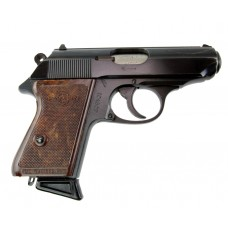 Manurhin PPK pistol with accessories.