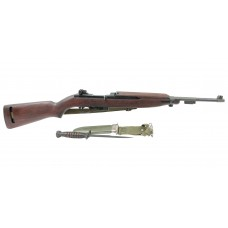 Underwood US M1 Carbine with bayonet