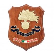 Crest of Carabinieri bicentennial 1814 - 2014