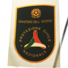 Window sticker Protezione Civile Nazionale